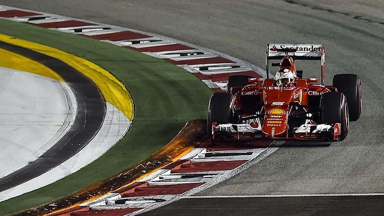 Sebastian Vettel, Ferrari. Philippe Lopez/TT.