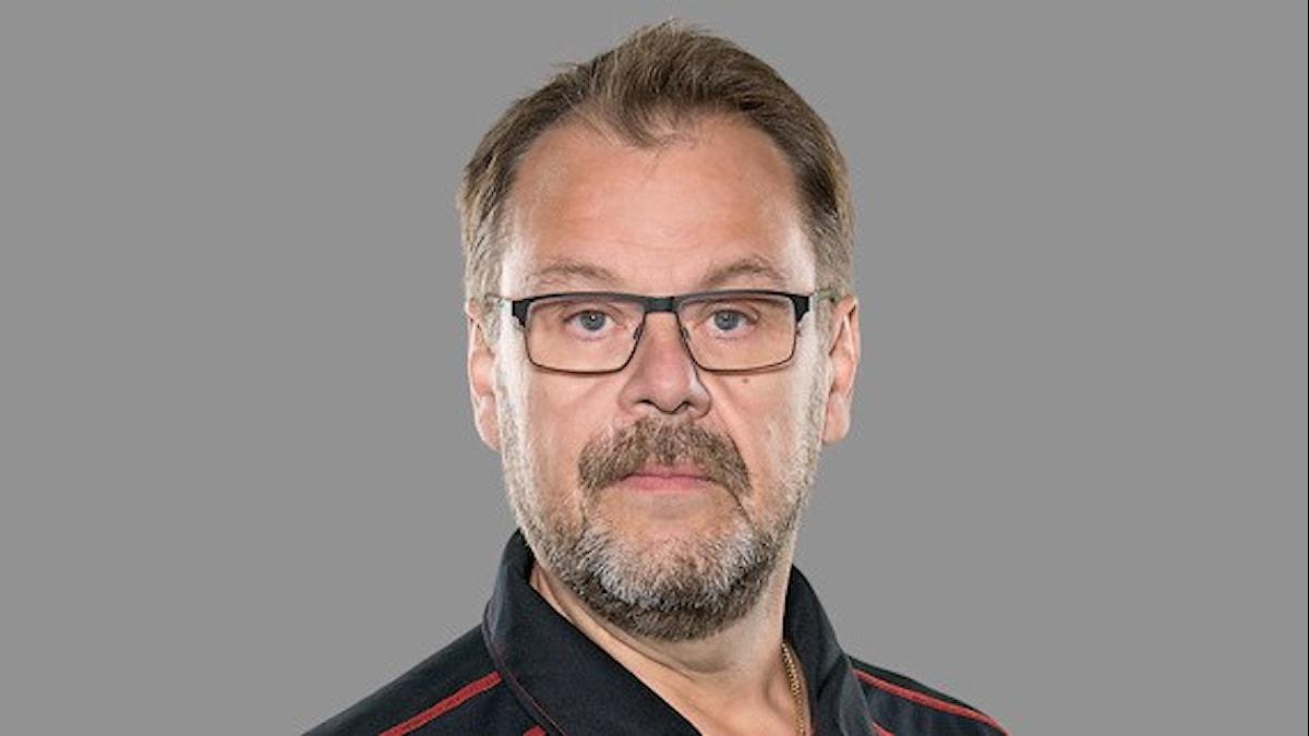 SHL 2015-16 : Brynäs IF, Målvaktstränare Per-Erik Alcén, Foto: Stig Kenne / TT