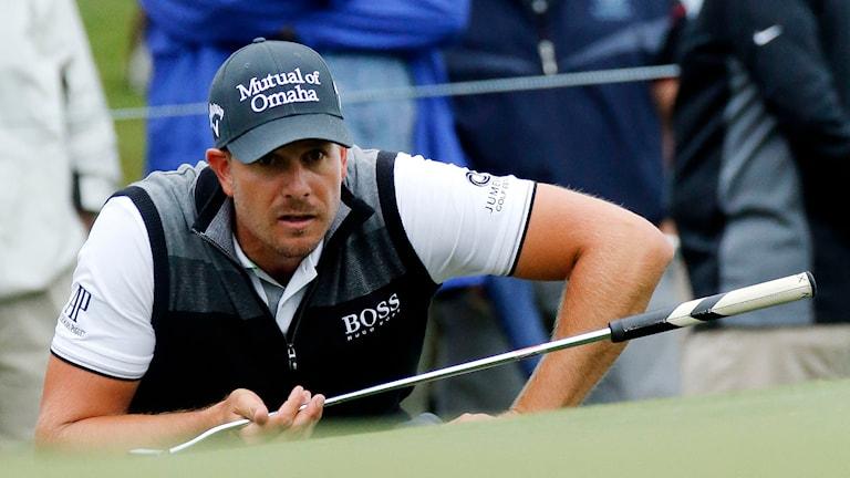 Golfspelaren Henrik Stenson. Foto: John Bazemore/TT.