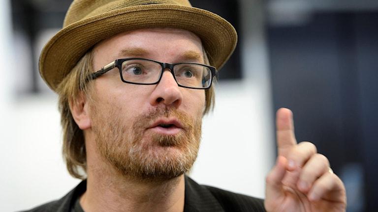 Tony Ernst, Svenska Supporteruniones ordförande. Foto: TT Nyhetsbyrån