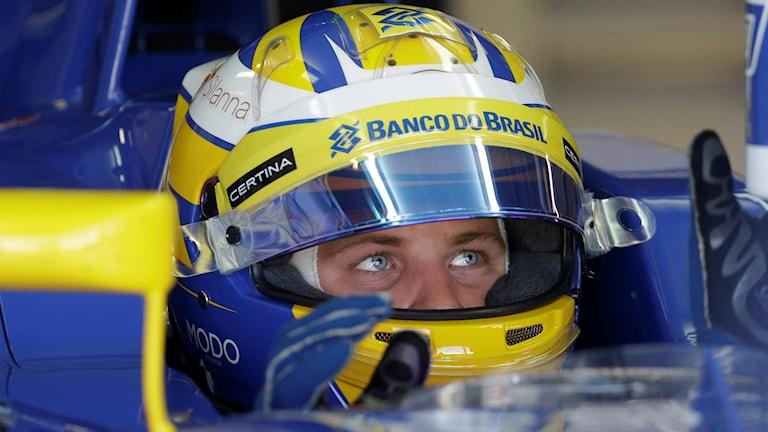 20150905 Formel 1 Marcus Ericsson. Foto: Luca Bruno/TT