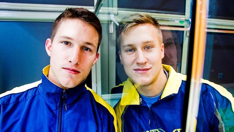 Kristian Karlsson och Mattias Karlsson, arkivbild. Foto: Emil Eiman-Roslund/TT