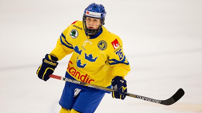 Hanna Olsson gav Sverige ledningen med 2-1 mot USA. Foto: Andreas Hillergren/TT
