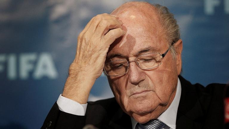 Sepp Blatter. Foto: TT