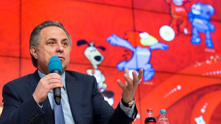 Rysslands idrottsminister Vitalij Mutko