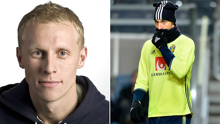 Richard Henriksson och Zlatan Ibrahimovic