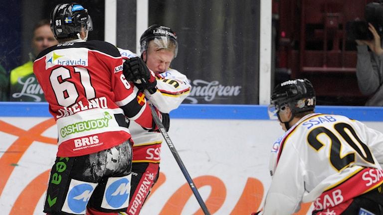 Malmö mot Luleå i SHL. Foto: TT Nyhetsbyrån
