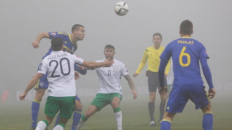 Dimmigt i Bosnien-Hercegovinas playoff-möte med Irland