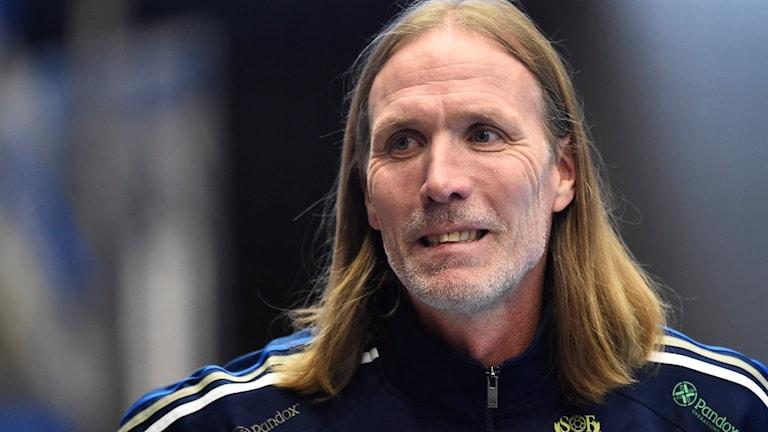 Sveriges förbundskapten Staffan Olsson. Foto: Mikael Fritzon/TT