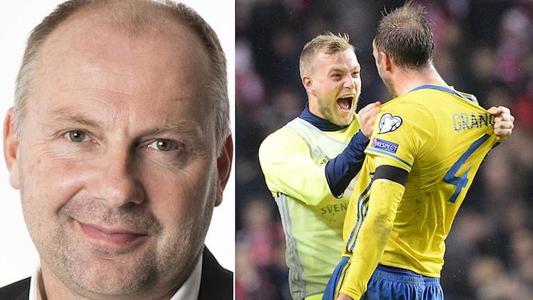Håkan Mild tror att Sverige kommer få det tufft i EM. Foto: SR/TT