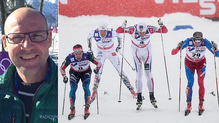 Torgny Mogren är orolig över den klassiska skidåkningens framtid. Foton: SR och TT.