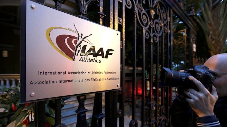 IAAF:s kontor i Monaco. Foto: (AP Photo/Lionel Cironneau, File/TT