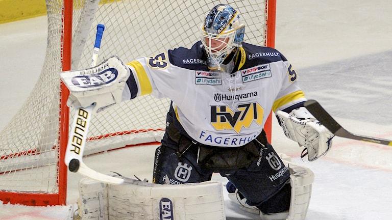 Fredrik Pettersson-Wentzel, HV71:s målvakt