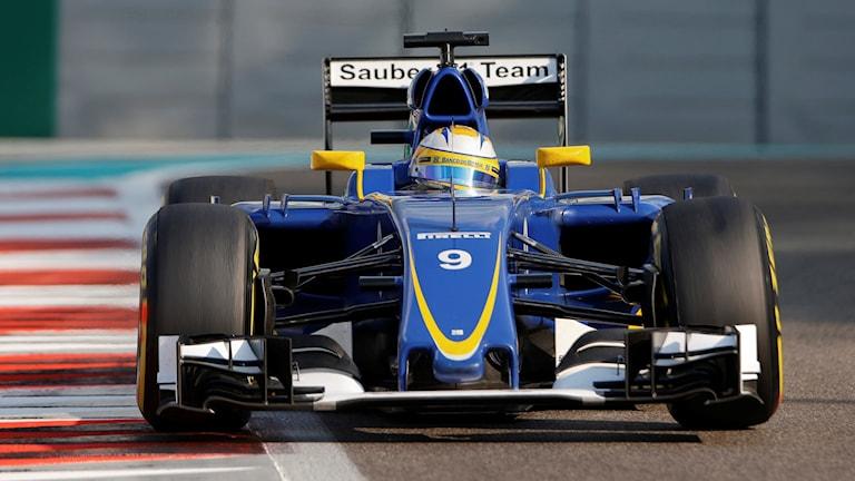 Marcus Ericsson. Foto: TT