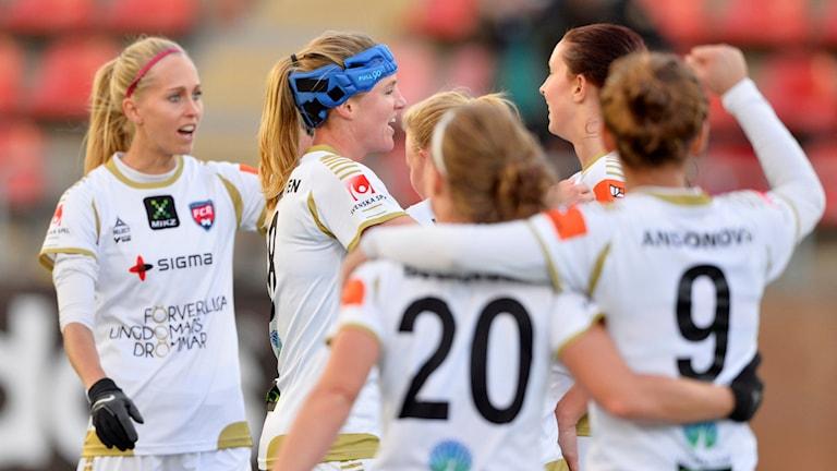 Damallsvenska Rosengård får förstärkning från USA till nästa säsong. Foto: Marcus Ericsson/TT