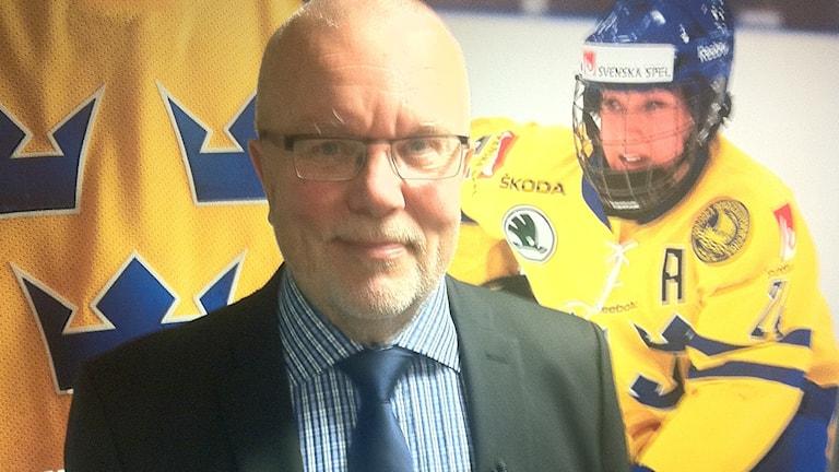 Förbundskapten Leif Boork. Foto: Bo Johander/SR.
