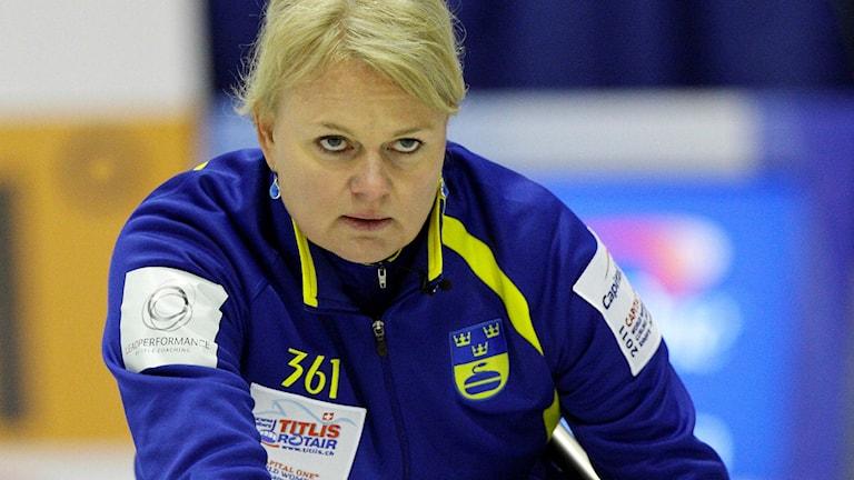 Anette Norberg. Foto: Jesper Dall/TT.