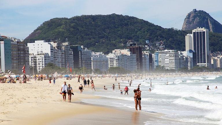 Copacabana, Rio de Janeiro. Foto: Erik Johansen.