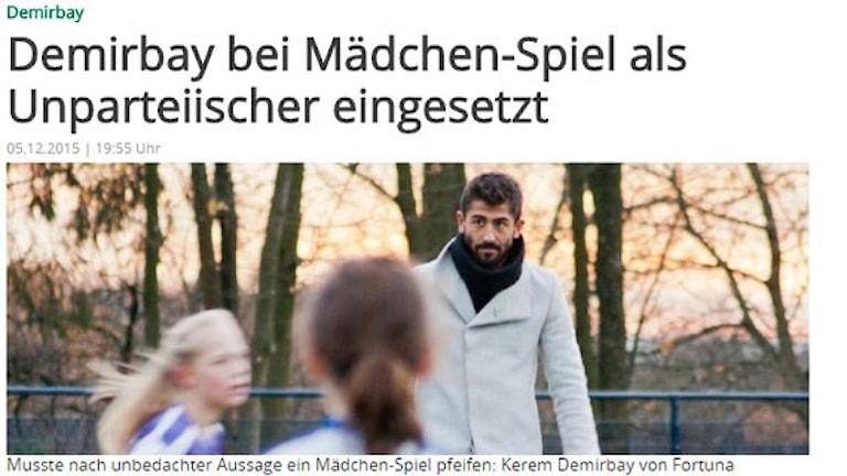 Kerem Demirbay i tyska pressen.