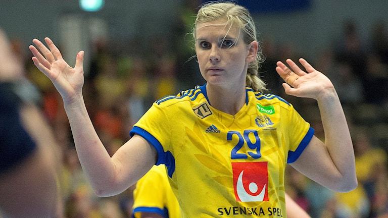 Jenny Alm.  Foto: Maja Suslin / TT.
