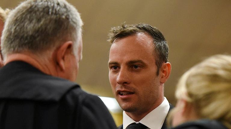 2015 Morddömde Oscar Pistorius. Foto: Herman Verwey/TT