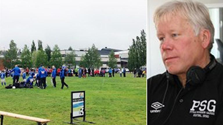 Piteå Summer Games och Kjell-Anders Johansson. Foto: SR