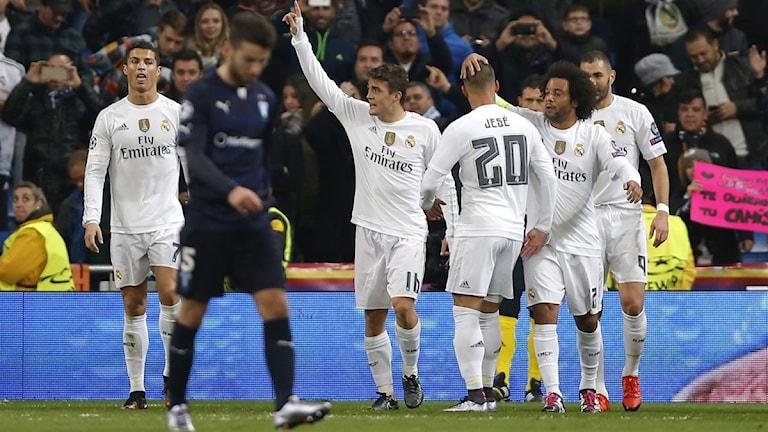 20151208 Real Madrid-Malmö FF i Champions League. Foto: Daniel Ochoa de Olza/TT