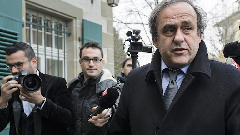 Michel Platini. Foto: Fabrice Coffrini/TT.
