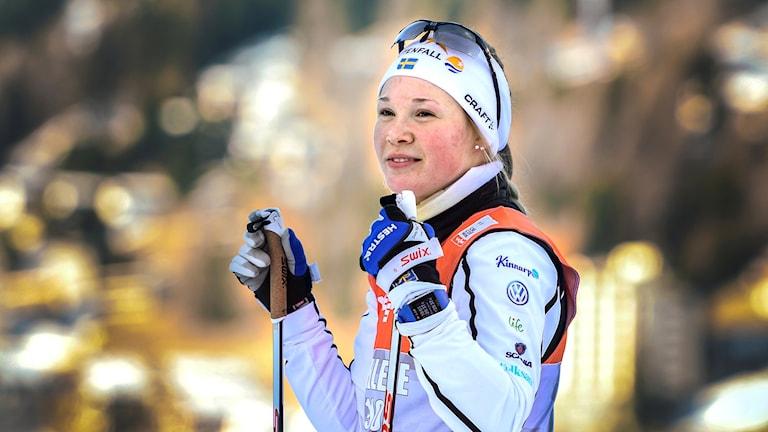 Jonna Sundling kommer från Tvärålund utanför Umeå. Foto: Anders Wiklund/TT