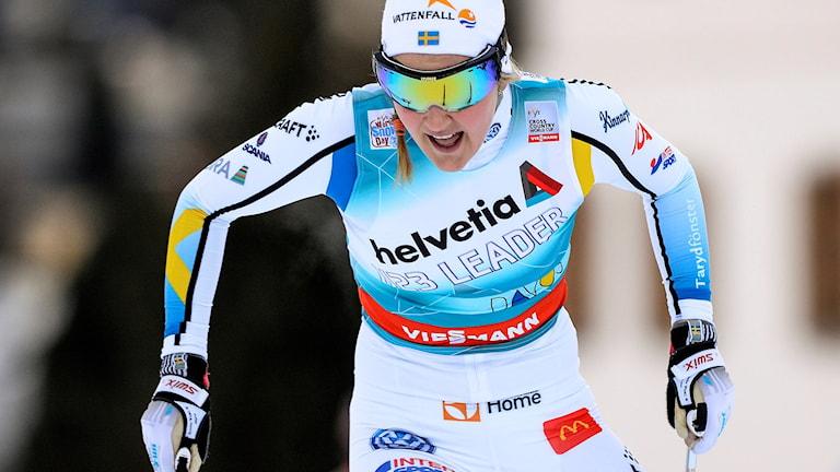 Stina Nilsson. Foto: Anders Wiklund / TT.