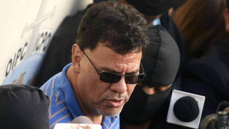 Reynaldo Vasquez misstänks för att ha tagit emot mutor. Foto: AFP/TT