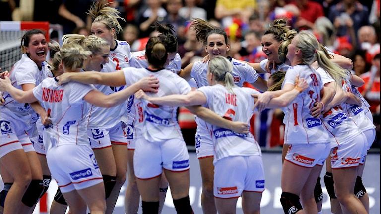 20151220 Norge firar VM-guldet. Foto: Jens Dresling/Polfoto via AP