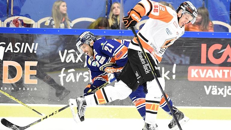 Både Växjö och Karlskrona har förlustsviter i ryggen. Foto: Mikael Fritzon/TT