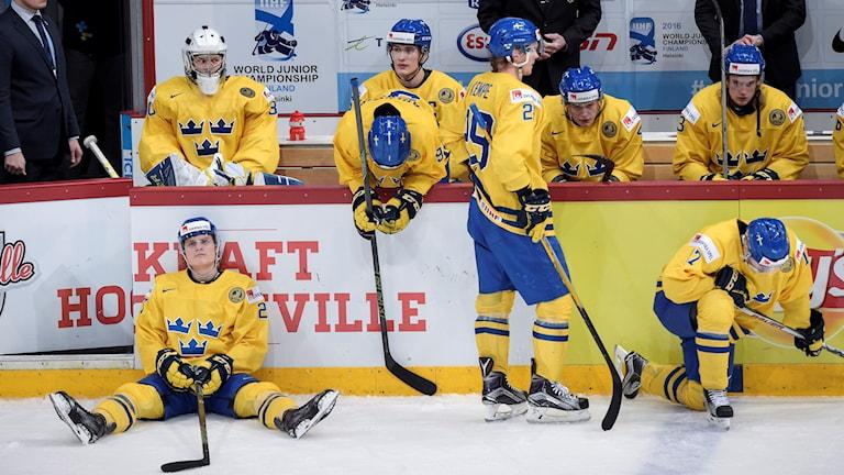 Svenska JVM-laget deppar efter semifinalförlusten mot Finland