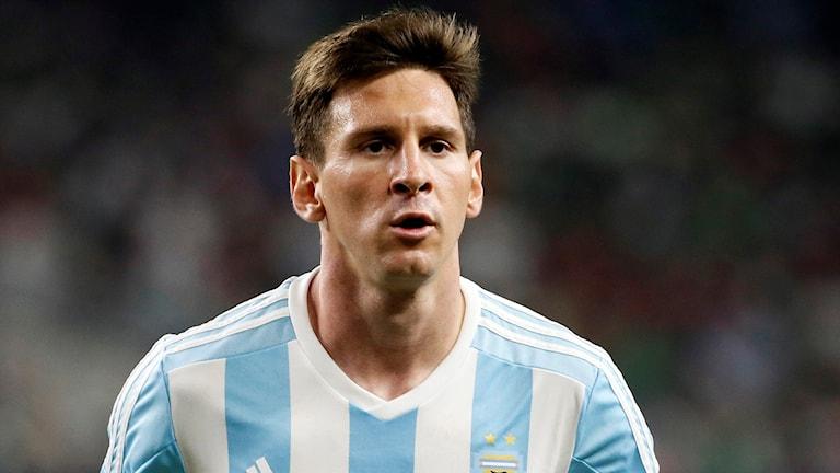 Det argentinska OS-laget får klara sig utan Lionel Messi i OS. Foto: AP Photo/Tony Gutierrez/TT