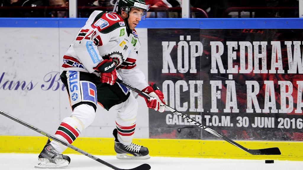 Joel Lundqvist, Frölunda. Foto: Björn Lindgren / TT.