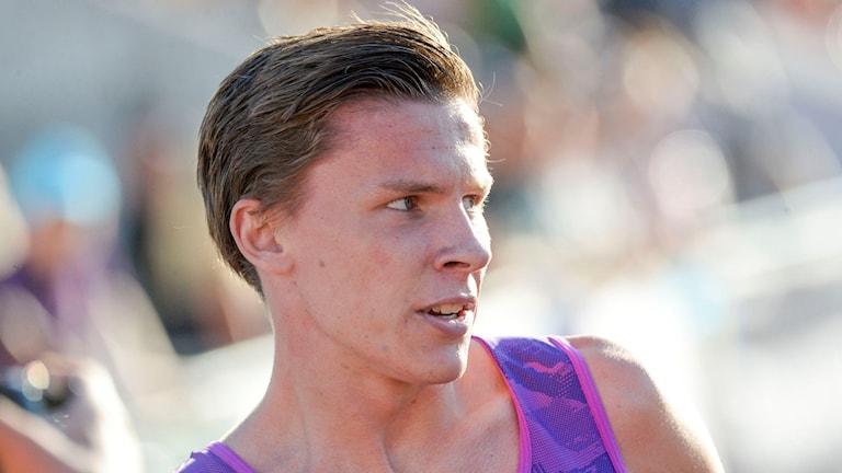 Andreas Almgren kan stå över inomhus-VM. Foto: Pavel Kobek/TT