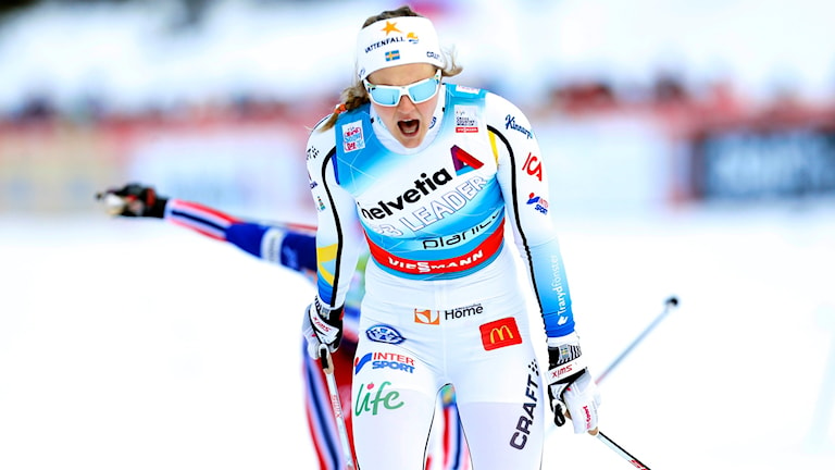 Stina Nilsson. Foto: AP Photo/Darko Bandic/TT