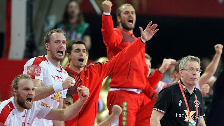 Danskt jubel i handbolls-EM