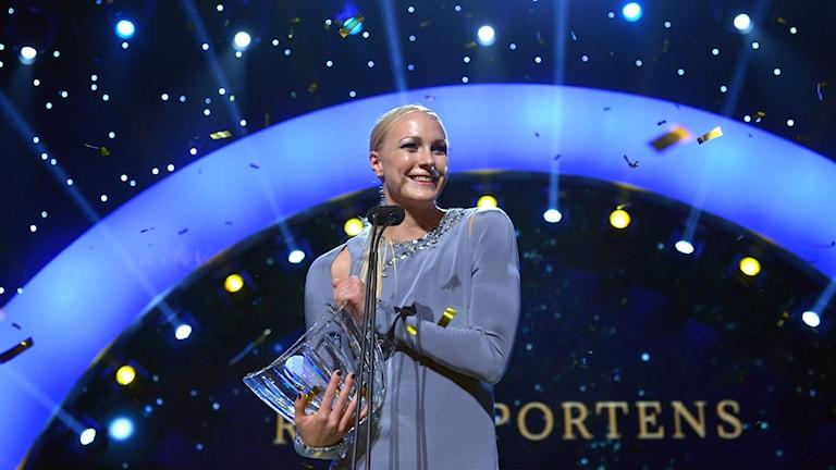 Sarah Sjöström tar emot Jerringpriset för andra året i rad