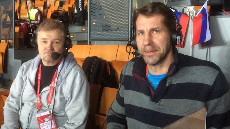 Paul Zyra och Magnus Wislander