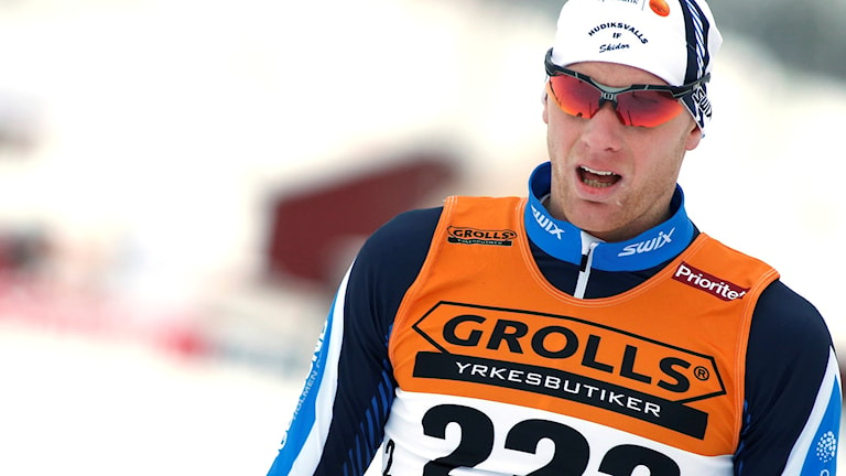 Daniel Richardsson under förra veckans SM-tävlingar. Foto: Robert Nyholm/TT.
