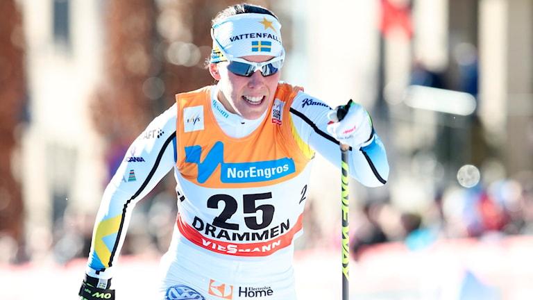Charlotte Kalla. Foto: Foto: Håkon Mosvold Larsen/NTB scanpix/TT