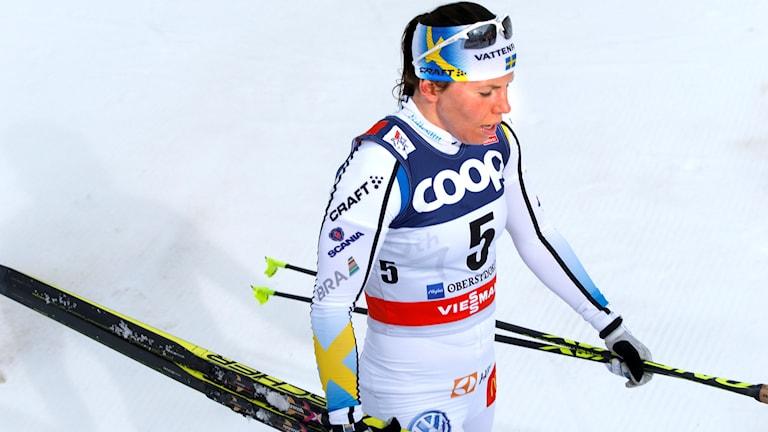 20160106 Charlotte Kalla under Tour de ski i Oberstdorf.