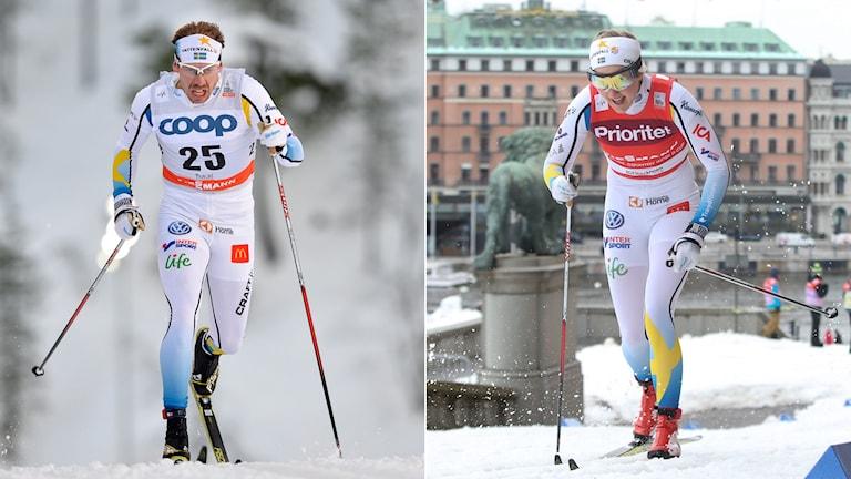 Emil Jönsson (t.v.) och Stina Nilsson