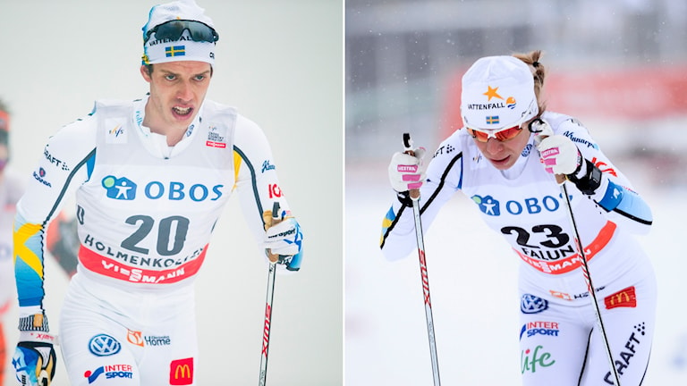 Marcus Hellner (t.v.) och Maria Rydqvist