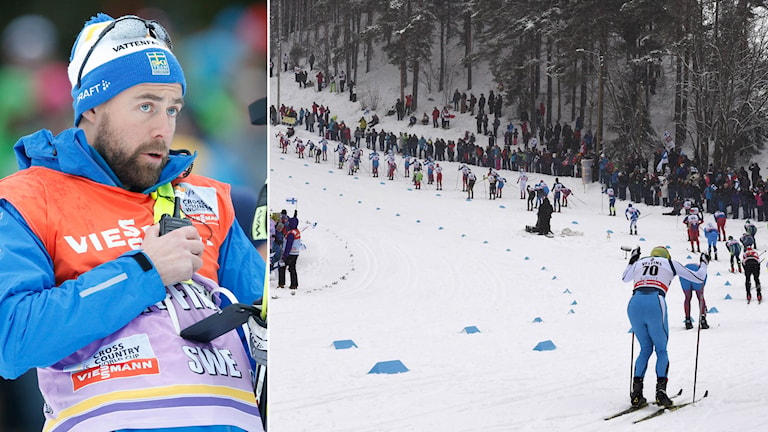 Förbundskapten Rikard Grip och VC-tävlingar i Lahtis