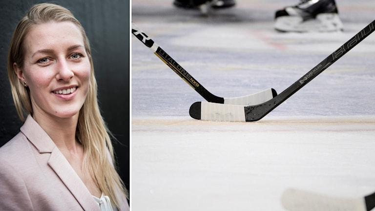 Danijela Rundqvist gästade Sportextra och pratade Riksserien