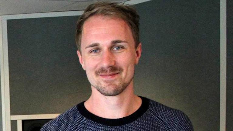 Ljudtekniker Jakob Lalér.