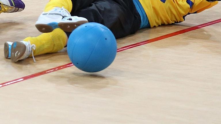 Goalball, arkivbild. Foto: TT